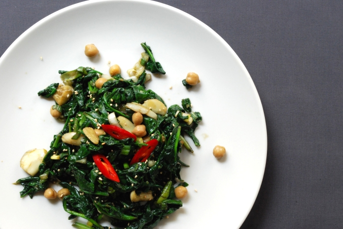 SpinachStirFry